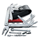 Мультитул Victorinox 3.0339.L SwissTool X Plus Ratchet, (115 мм, 40 функций)
