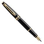 Перьевая ручка Waterman Expert Black Lacquer GT (S0951640)