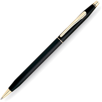 Шариковая ручка Cross Century Classic Black (2502 pen)