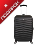 Купить дешево чемодан Wenger SW32300267 FRIBOURG, черный, АБС-пластик, 38x28x60 см, 64 л; дешево, Москва, доставка