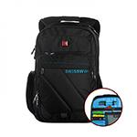 Рюкзак Swisswin SWE1004 с сумкой черный